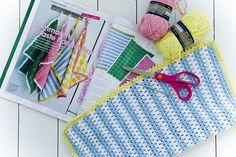 #Crochet kitchen towels