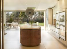 Bespoke British Kitchens, Wardrobes + Furniture - Innovative Contemporary Design from Roundhouse Kitchen Family Rooms, Living Room Kitchen, Open Plan Kitchen, Kitchen Ideas, Wardrobe Furniture, Outside Living, Functional Kitchen, Bespoke Kitchens, Round House