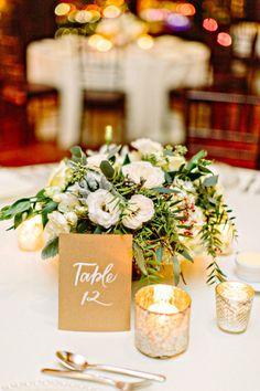 Winter florals: http://www.stylemepretty.com/little-black-book-blog/2015/03/19/elegant-winter-boston-state-room-wedding/ | Photography: Kelly Dillon - http://kellydillonphoto.com/