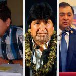 Hugo Avila viajó a la provincia de Salta para participar de la visita del presidente de Bolivia Evo Morales