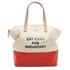"I love Kate Spade handbags but this one ""takes the cake."""