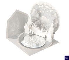 Pop up winter wedding invitations - Google Search