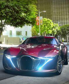 #Bugatti Type X7S #Concept