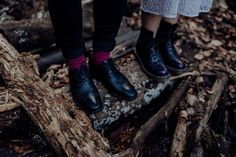 Inked-spiration Styled Shoot im Wald Doc Martens Oxfords, Dr. Martens, Tattoo Bunt, Combat Boots, Oxford Shoes, Ink, Style, Fashion, Pictures