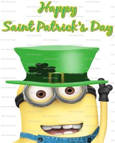 st patrick's day minions - Yahoo Search Results Minions Quotes, Minions Minions, Funny Minion, Patrick Quotes, Minions Friends, Minion Characters, Irish Eyes Are Smiling, St Paddys Day, Happy St Patricks Day