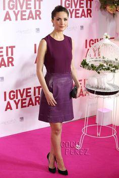 Rose Byrne wears Jill Stuart to the I Give It A Year premiere in Sydney, Australia.