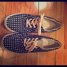 Bucketfeet Black and white polka dot sneakers Like new cute polka dot sneakers with cream laces. Bucketfeet Shoes Sneakers