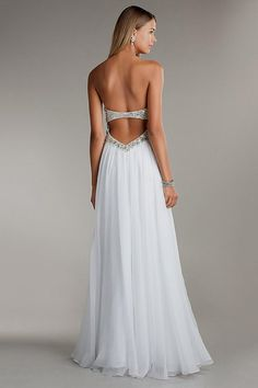 backless white prom dresses Naf Dresses