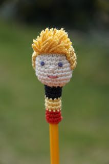 Pencil topper Red Devil Kevin De Bruyne