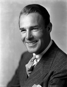 Randolph Scott ne George Randolph Scott, Orange County VA, (1898-1987) Heaty and lung disease