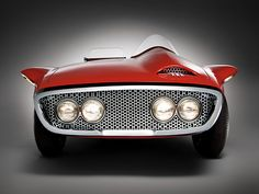 Plymouth XNR Concept Car, 1960