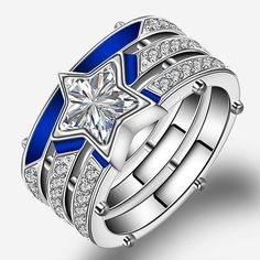 Dallas Cowboys Team Logo Design Unisex Ring