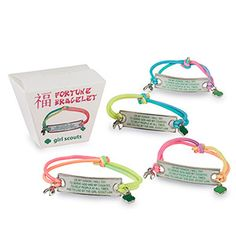 FORTUNE COOKIE BRACELET- $12.00.