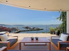 The French Quarter in Kirkland, WA | Relax after a long day on this stunning deck!