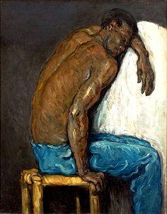 Paul Cezanne. Scipio, the Negro. 1865 São Paulo Museum of Art, São Paulo.