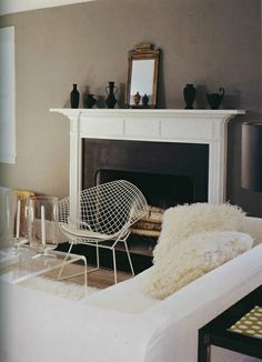 Bertoia chair.