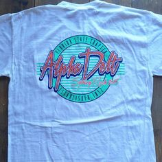 Got me in a Saved By the Bell mood 90s Shirts, School Shirts, Sorority Outfits, Sorority Shirts, Student Council Shirts, Fraternity Rush Shirts, Senior Class Shirts, School Shirt Designs, Greek Shirts