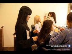 Let's See AOA Daily Activities at The Hair Salon