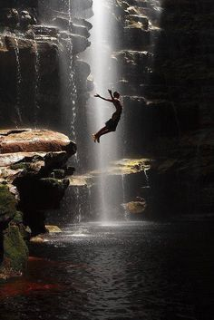If you haven't been cliff diving yet, well let me tell you...