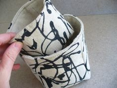 canvas basket sets project on Craftsy.com