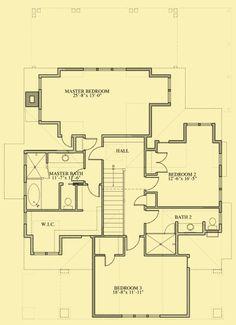 Architectural House Plans : Floor Plan Details : Carolina Craftsman Cottage