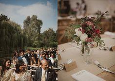 FARHANA & AMIT: TOWN & COUNTRY – Grace and Thorn - East London Florist
