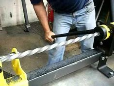 Homemade Metal Bender Constructed From Flat Steel Bar