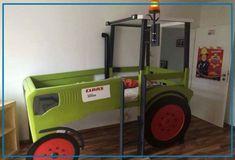 Etagenbett Traktor : Traktor kinderbett bauanleitung zum selber bauen kinderzimmer in
