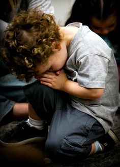 Teach them while they're young to pray.