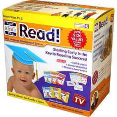 Your Baby Can Read!.... My oldest used this program and I can't say enough about it. Now starting my second daughter (7 months) and I can't wait for her to get just excited