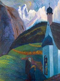 Marianne von Werefkin: Das Gebet (1910)