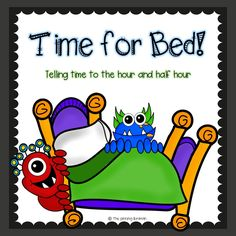 Telling time to the hour and half hour Freebie!