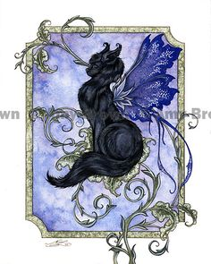 The Faery Cat by Amy Brown for the Kitty-fanatics out there :D