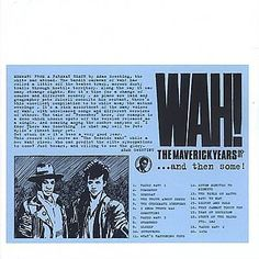I just used Shazam to discover Story Of The Blues Pts. 1&2 by The Mighty Wah!. http://shz.am/t438618