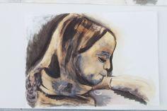 Quink ink and bleach development of Matilda.