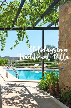 Find the perfect traditional style villa in www. Next Holiday, Family Holiday, Crete Holiday, Relax, Crete Greece, Romantic Vacations, Enjoying The Sun, Holiday Traditions, Ultimate Travel