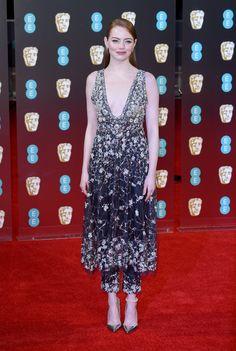 Emma Stone in Chanel Haute Couture