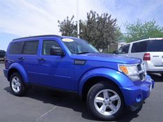 2007 Dodge Nitro, Blue, @Rebecca Dezuanni Porter  haha its your car!! im in love with it! love the color!