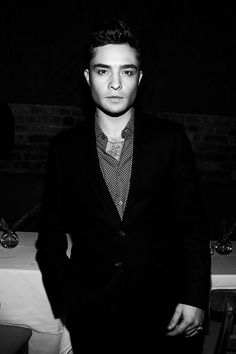 Ed Westwick : Chuck Bass   Fashion CHALET: The Next Marlon Brando?