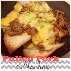 Blissful and Domestic Recipes: Pulled Pork Nachos via Finding Faith's Future