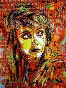 On Wood By C215 Graffiti Graphic Design Vektor Photography