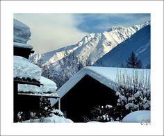 Snow - Chamonix-Mont-Blanc, Rhone Alpes