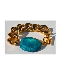 Chunky Agate Bracelet