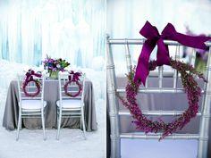 Disney's Frozen Inspired Wedding Shoot (midway ice castles calie rose wedding flowers Utah florist Frozen Wedding Ideas winter wedding flower)