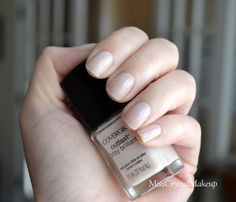 Great dupe for Essie Ballet Slippers but better coverage - Cover Girl Forever Frosted