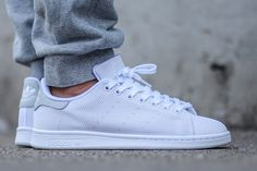 ADIDAS STAN SMITH (WHITE/LIGHT SOLID GREY) - Sneaker Freaker