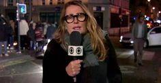 Os telespectadores questionaram o 'sumiço' da correspondente na cobertura do…