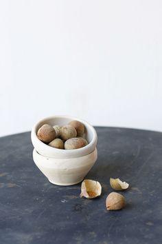 pair of stoneware bo