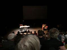 Schouwburg Rotterdam. Adriaan van Dis en Olga Zuiderhoek in 'Ik kom terug.'