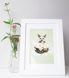 a bit of the Alice in Wonderland's!   Alexandra Rolfe's clever chihuahua